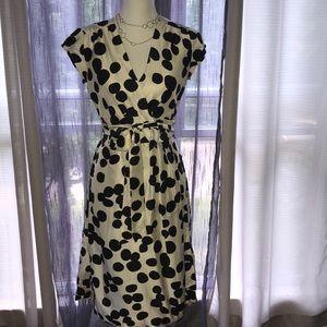 Banana Republic Polka Dot Wrap Dress